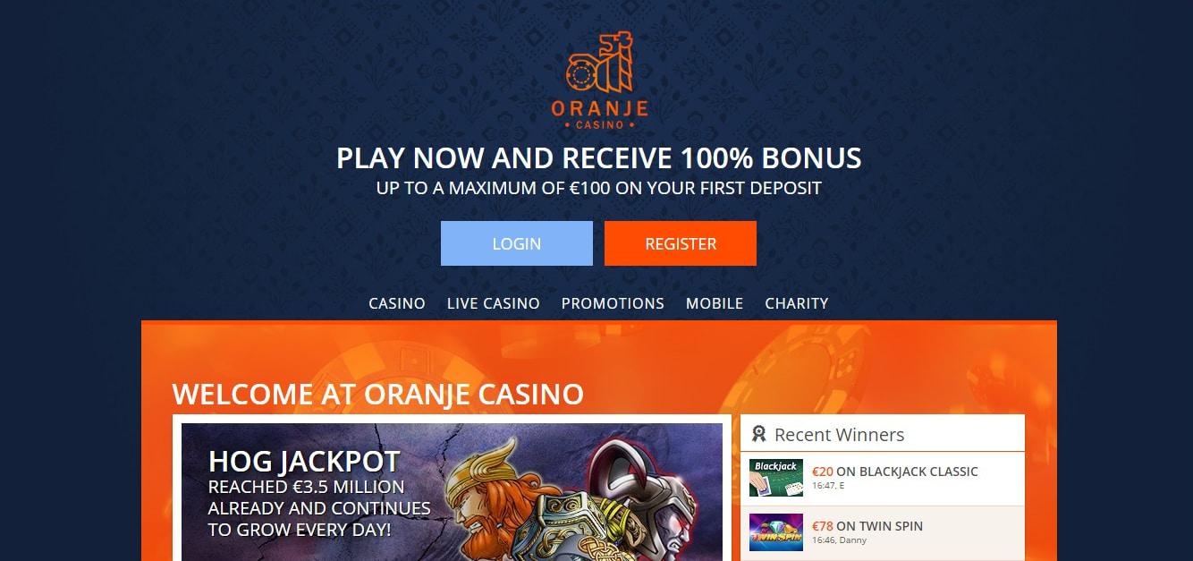 Video poker in Oranje Casino